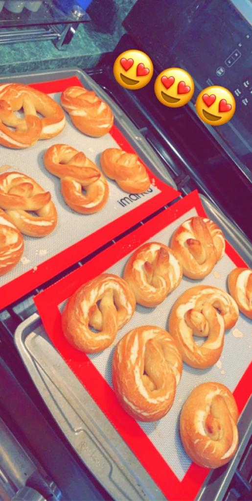 #pretzels #softpretzel #vegan #veganbaking #baking